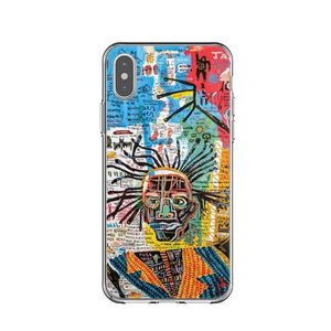 SELF PORTRAIT Basquiat Phone Case [iPhone] - Kiaroskuro Kiaroskuro Decor- Canvas Prints, Home Décor & Fashion