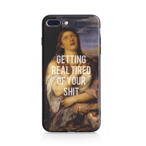 GETTING REAL TIRED Classics Phone Case [iPhone] - Kiaroskuro Kiaroskuro Decor- Canvas Prints, Home Décor & Fashion