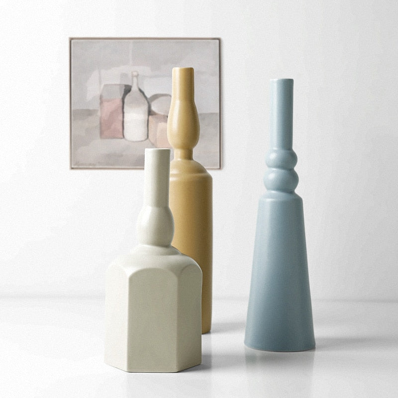 PASSAGE Morandi Ceramic Vase Collection - Kiaroskuro Kiaroskuro Decor- Canvas Prints, Home Décor & Fashion