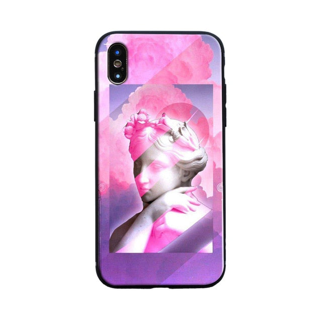 FAINT Michelangelo Phone Case [iPhone] - Kiaroskuro Kiaroskuro Decor- Canvas Prints, Home Décor & Fashion