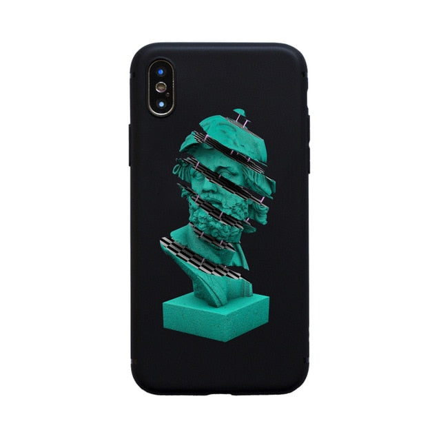 STACK Michelangelo Phone Case [iPhone] - Kiaroskuro Kiaroskuro Decor- Canvas Prints, Home Décor & Fashion