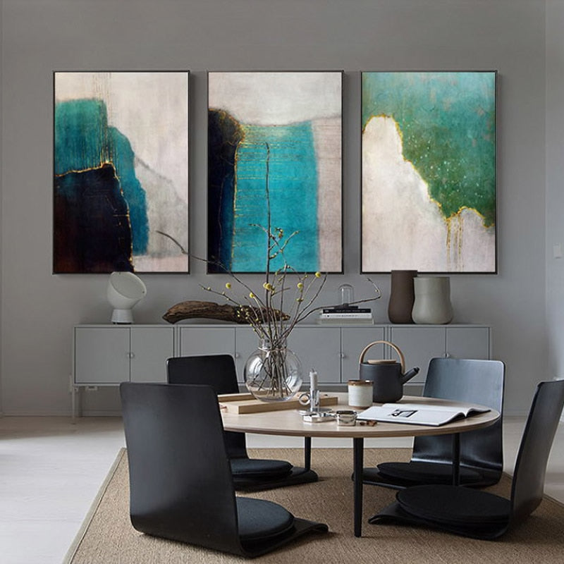 SERENITY Abstract Canvas Print - Kiaroskuro