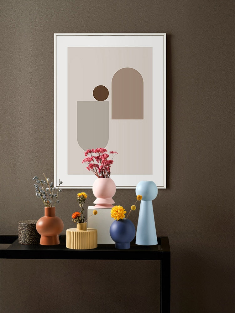 BOLLA Morandi Ceramic Vase Collection - Kiaroskuro Kiaroskuro Decor- Canvas Prints, Home Décor & Fashion