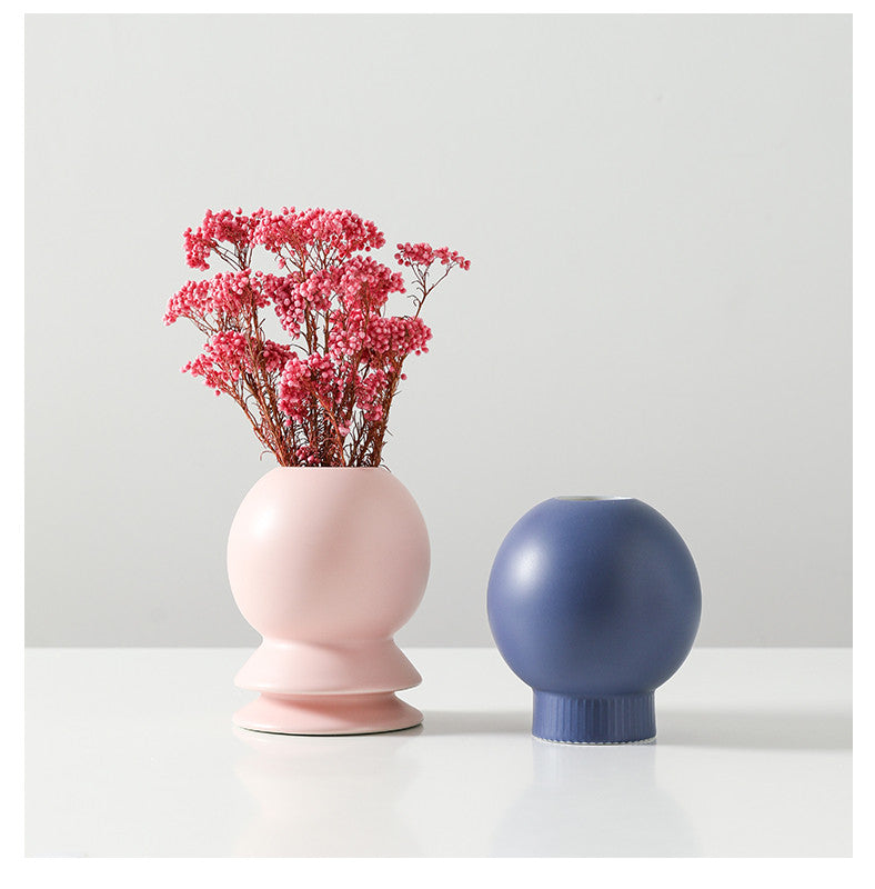 BOLLA Morandi Ceramic Vase Collection - Kiaroskuro