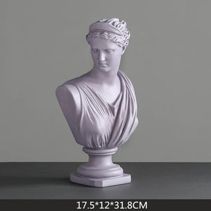 PRUSSIAN Michelangelo Resin Decoration Statues - Kiaroskuro Kiaroskuro Decor- Canvas Prints, Home Décor & Fashion