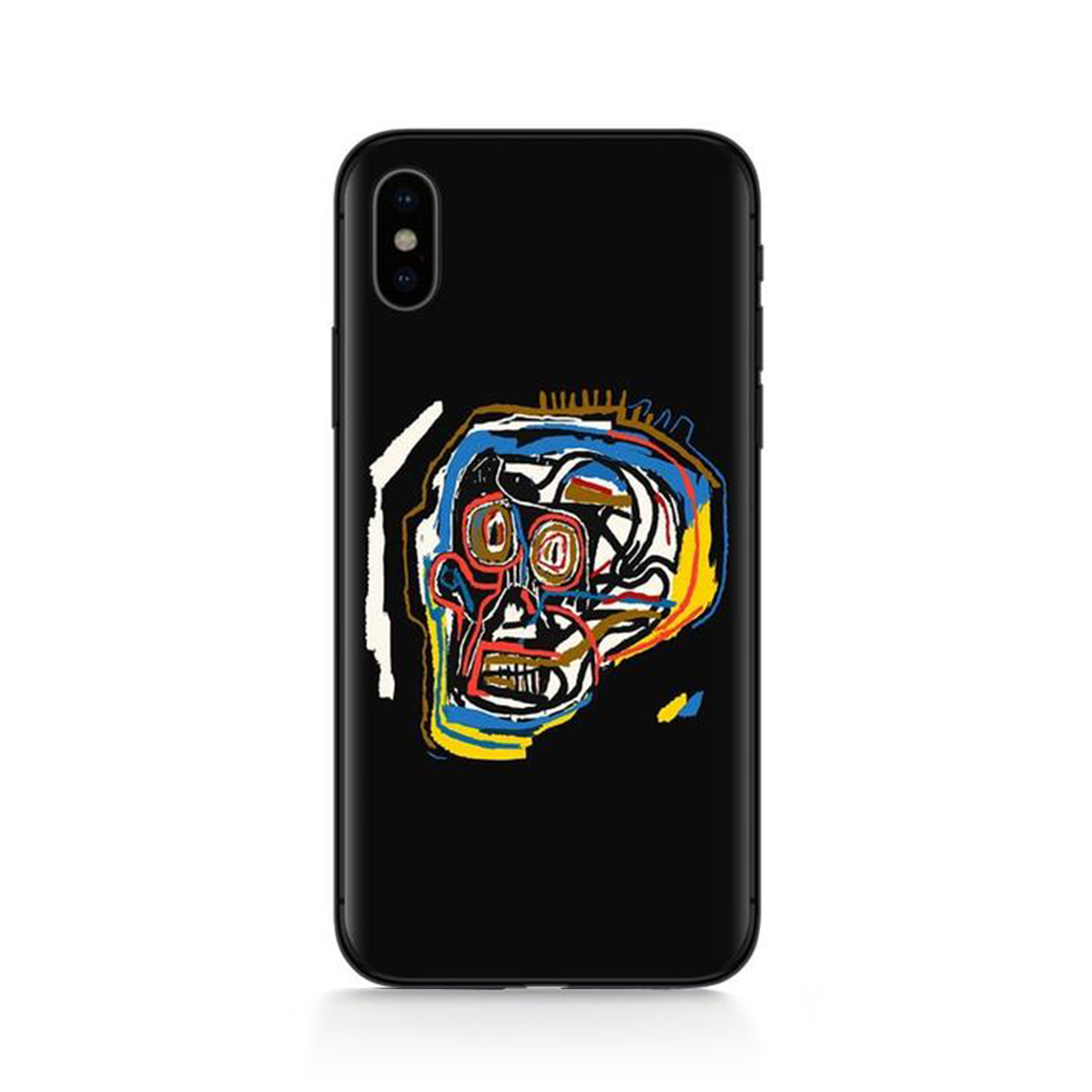 SKULL Basquiat Phone Case [iPhone] - Kiaroskuro Kiaroskuro Decor- Canvas Prints, Home Décor & Fashion
