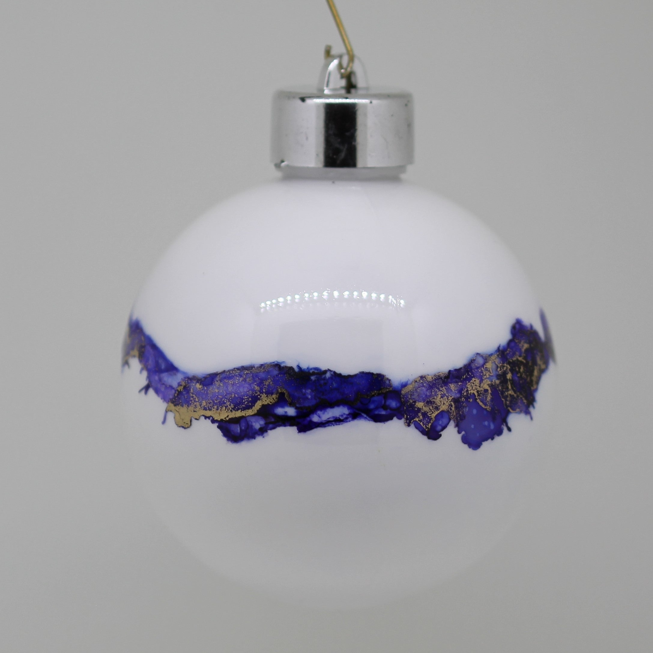 Handmade Alcohol Ink Baubles