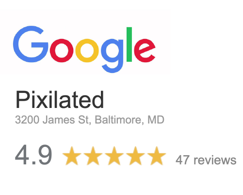 Pixilated Google Reviews