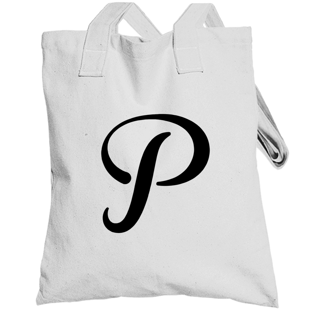 White Pixilated Totebag