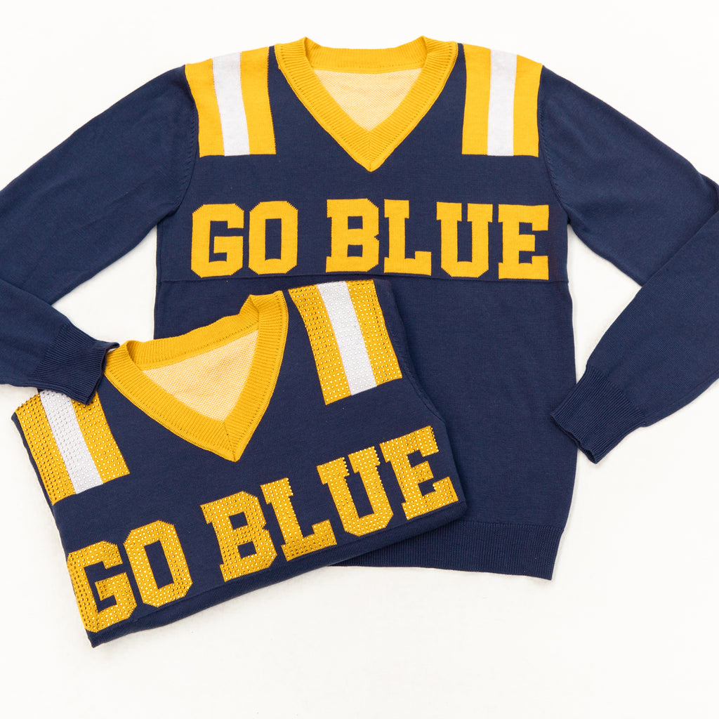 Go Blue Jersey Sweater