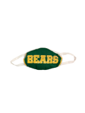 Green BEARS Jersey Mask
