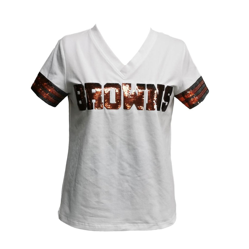 BROWNS White Jersey Tee