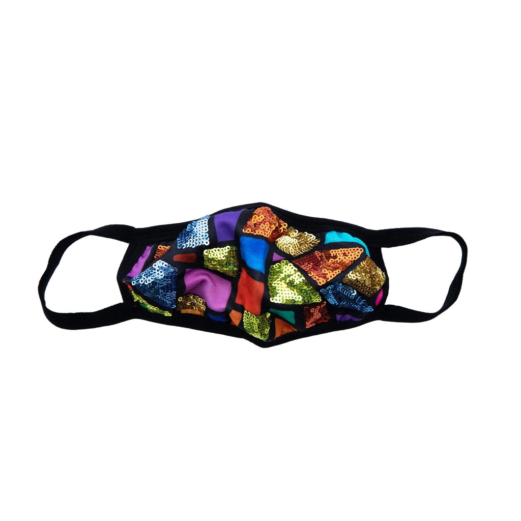 Sparkle Stained Glass Mask - PREORDER ships 1-2 weeks