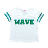 WAVE Sequin Jersey Tee