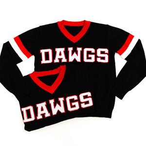 DAWGS Black Jersey Sweater