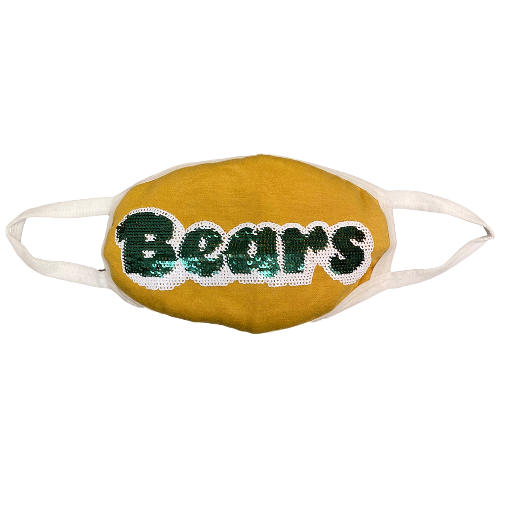Gold Bears Jersey Mask