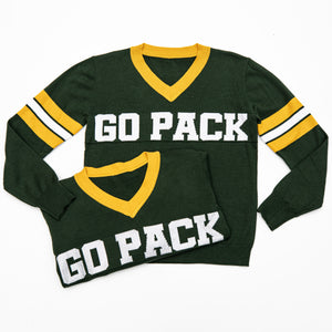 Go Pack Green Jersey Sweater