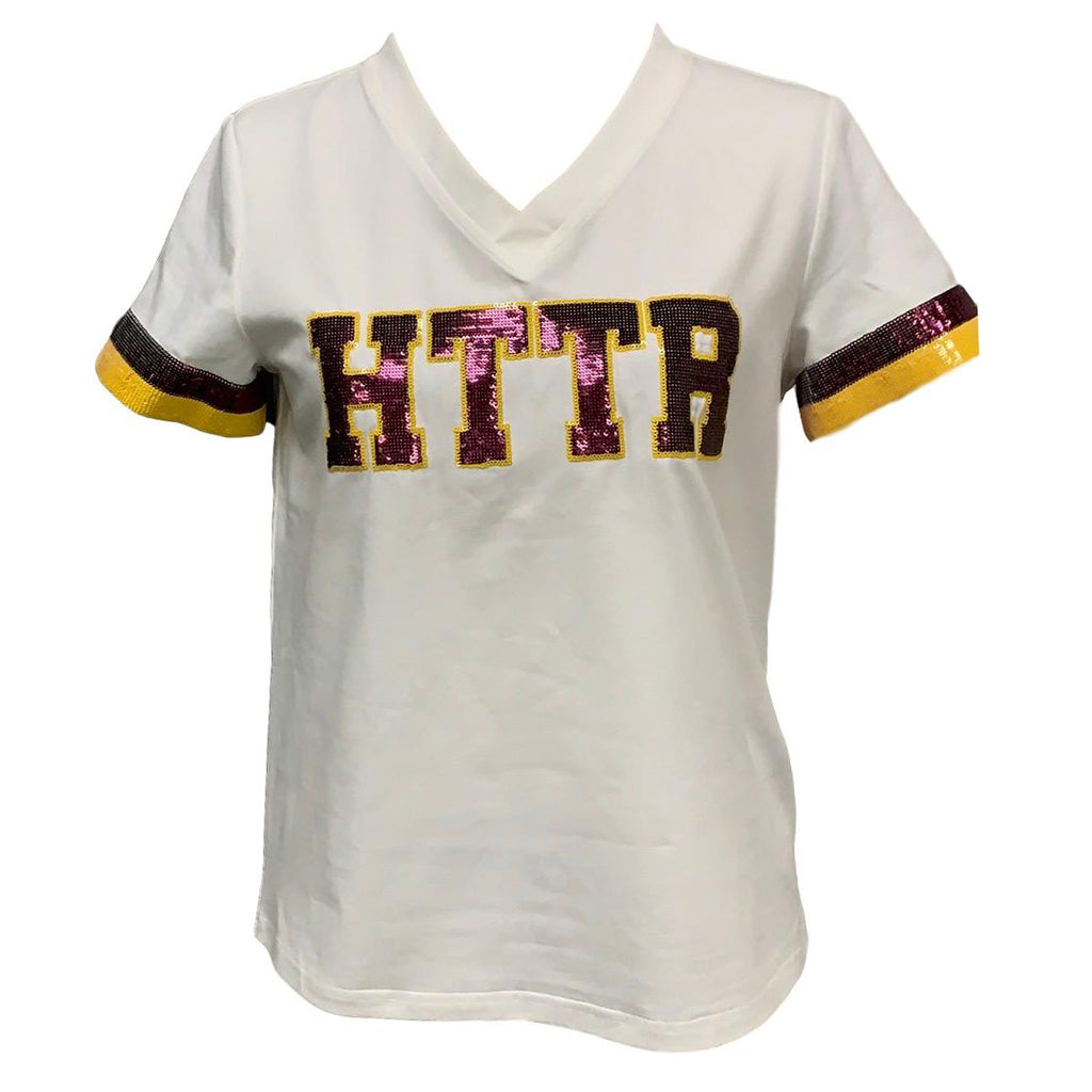 HTTR White Color Rush Jersey Tee
