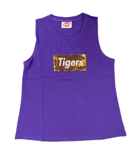 Purple Supreme TIGERS Tank