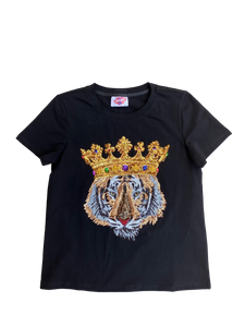 Tiger King Tee Black