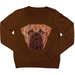 Bling Bullmastiff Sweater