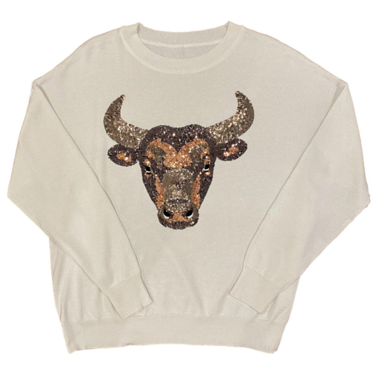 Oversized Bull Sweater