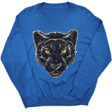 Oversized Panther Sweater