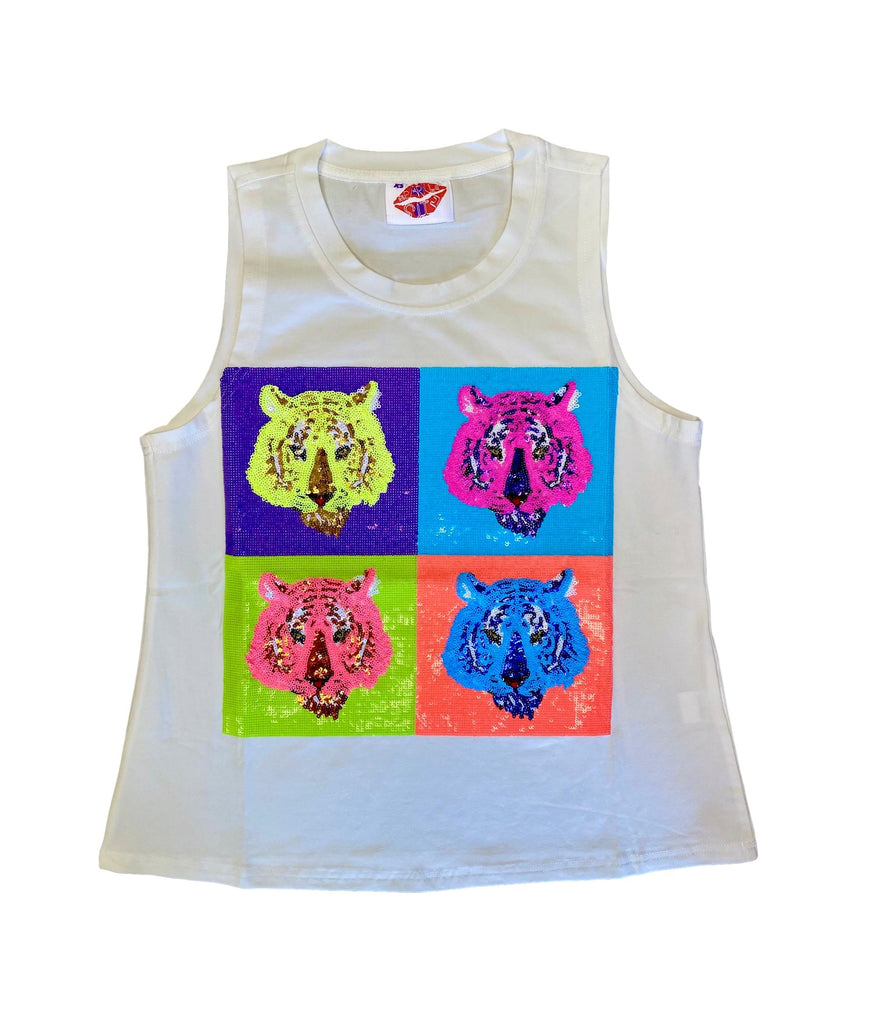 POP Art Tiger Tank