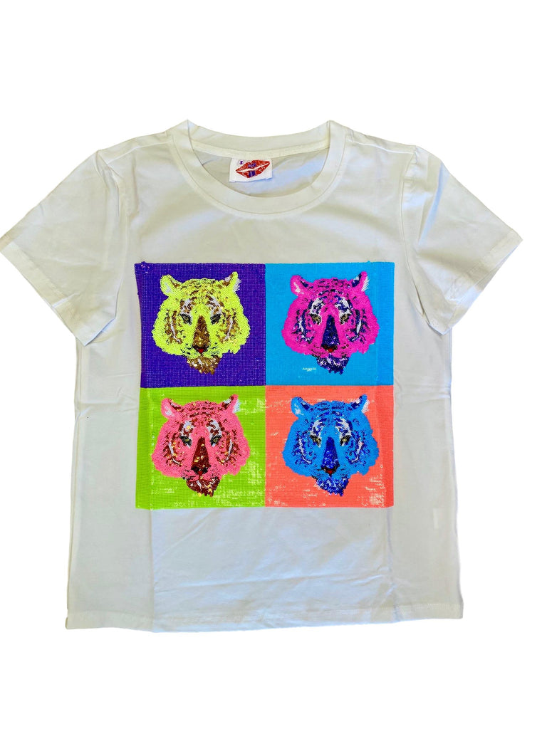 POP Art Tiger Tee