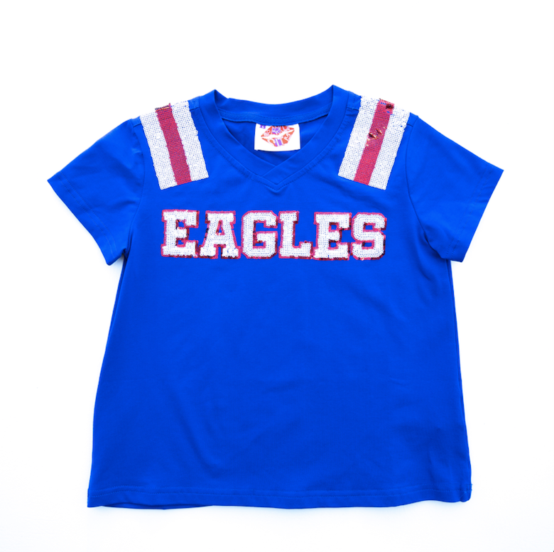 EAGLES Blue Jersey Tee