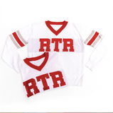 RTR White Jersey Sweater
