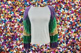 Fat Tuesday Tassel Sleeve Sweater