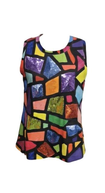 Sparkle Stained Glass Tank