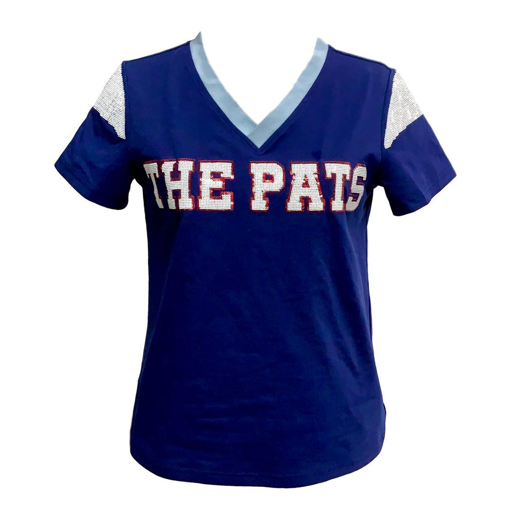The Pats Navy Blue Color Rush Jersey Tee