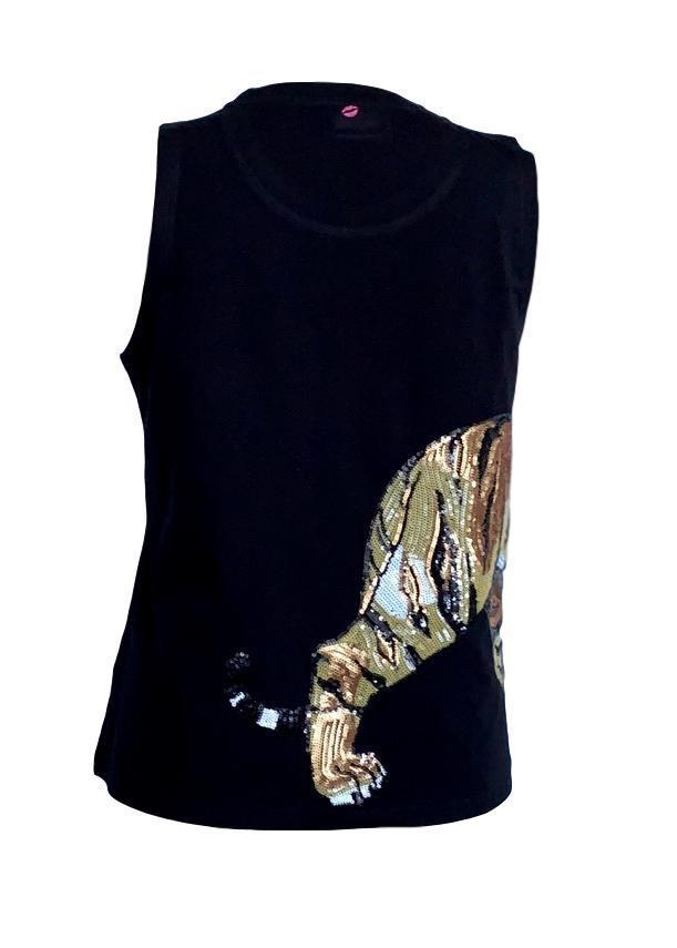 Wrap-Around Tiger Tank Black