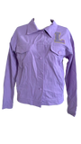 GEAUX Denim Jacket Lavender