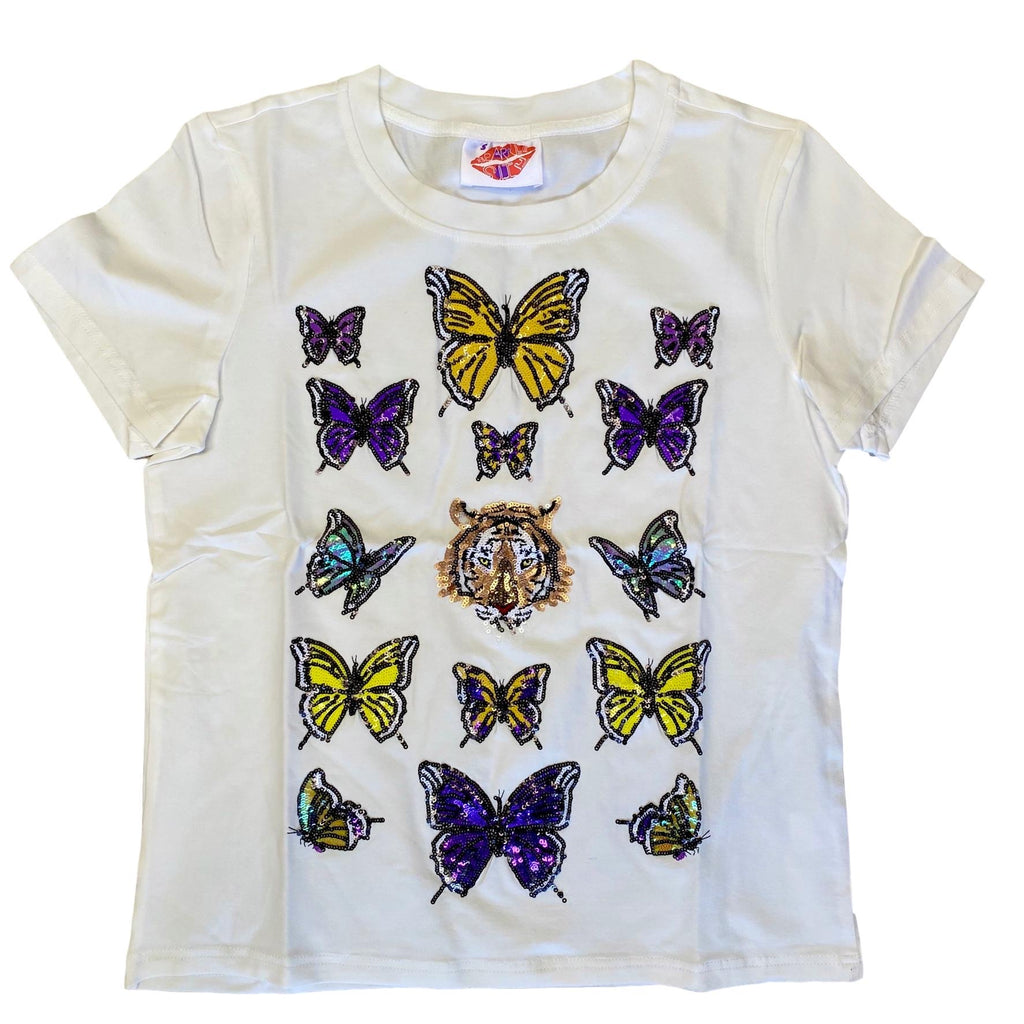 Bling Butterfly Tiger Tee