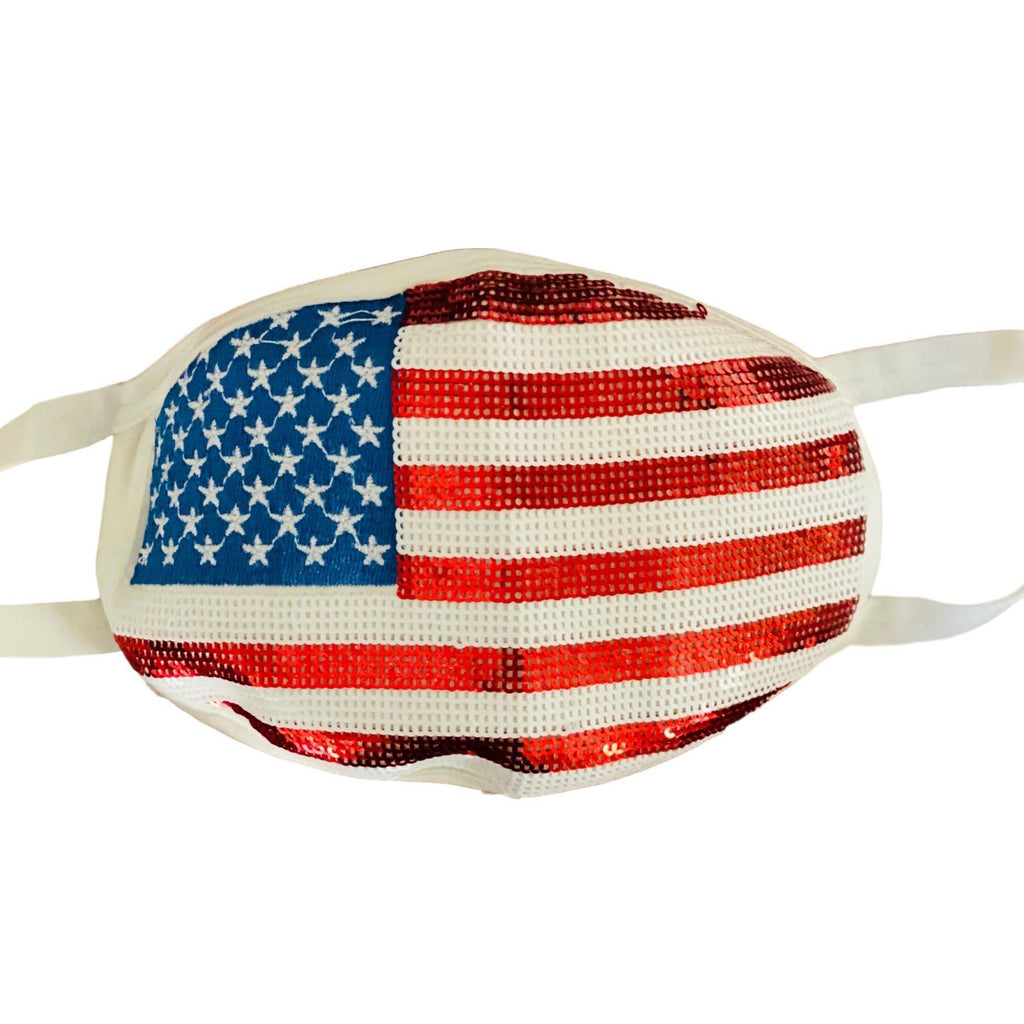 Fancy Flag Mask - PREORDER ships 1-2 weeks