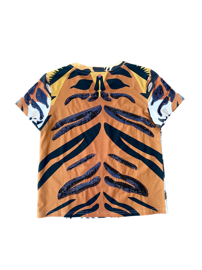 Fancy Face Tiger Tee Regular