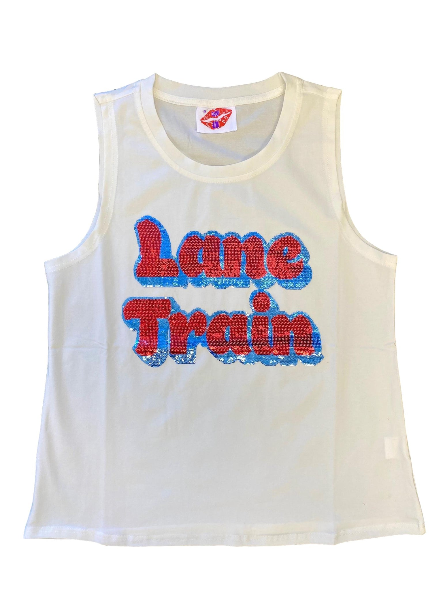 Lane Train Sequin Tank