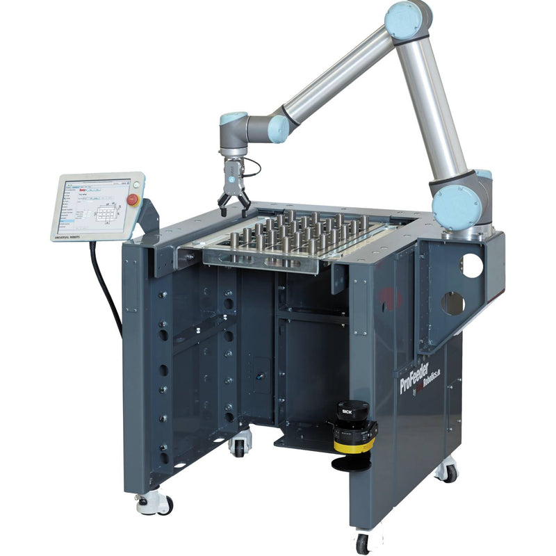 EasyRobotics ProFeeder Light - Machine Tending Platform with Fixed Tray