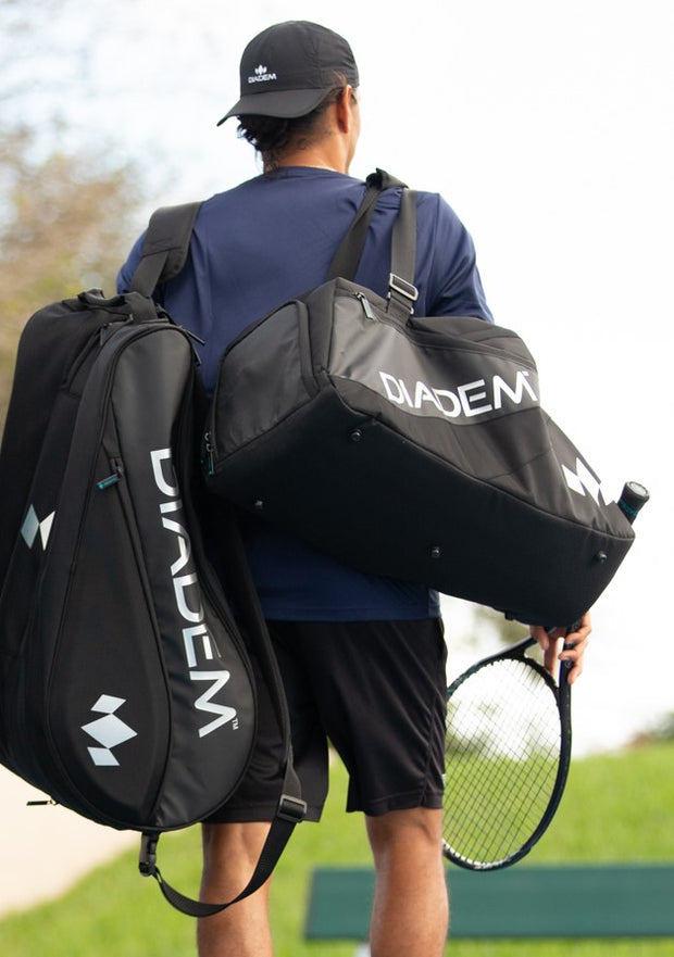 Diadem Tour Nova Duffel Bag (Black/Chrome) - Diadem Sports