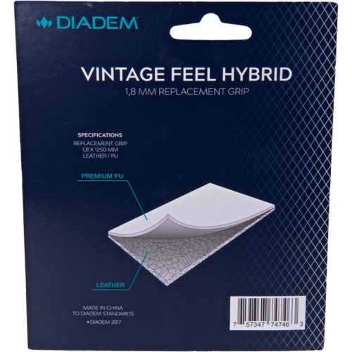 Diadem Vintage Feel Hybrid Replacement Grip - Diadem Sports