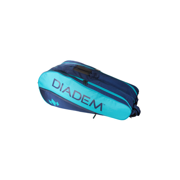 Diadem Tour 9 Pack Elevate Racket Bag (Teal/Navy) - Diadem Sports