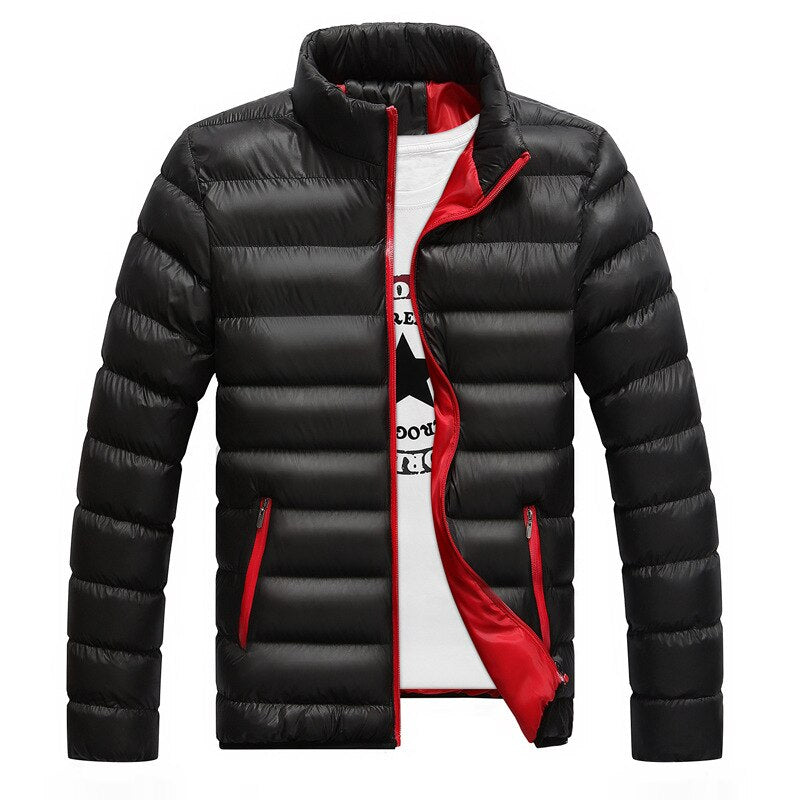 Winter Light Down Jacket Stand Collar Fit 3D Version Thermal Coat men duck down jacket ultralight outwear Fashion 2019 For Men