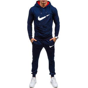 New Men Sportswear Hoodies Pants Set Spring Track Suit Clothes Casual Tracksuit Men Sweatshirts Coats Male Joggers Streetwear