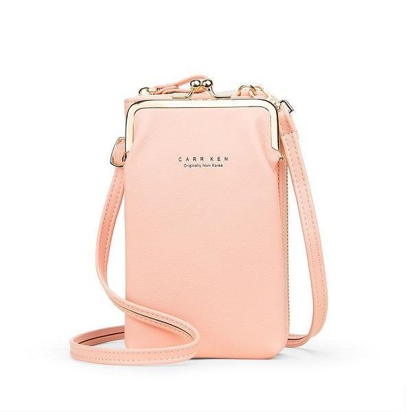 Women Phone Bag Solid Crossbody Bag [Limited time offer: Buy 2 Save More 15%]