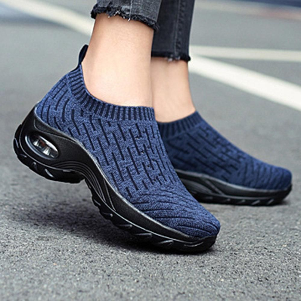 Women's Daily Walking Shoes, Mesh Slip On Air Cushion (BUY 2 FREE SHIPPING)