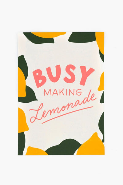 Affiche Making Lemonade - jonesie