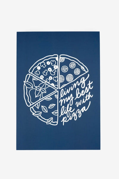 Affiche Pizza Life - jonesie